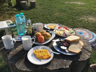 Outdoor Breakfast