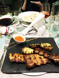 Exclusive Hotel & More restaurant - pork ribs